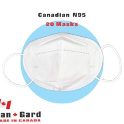 CanGard Care - Canadian N95 20 Ma