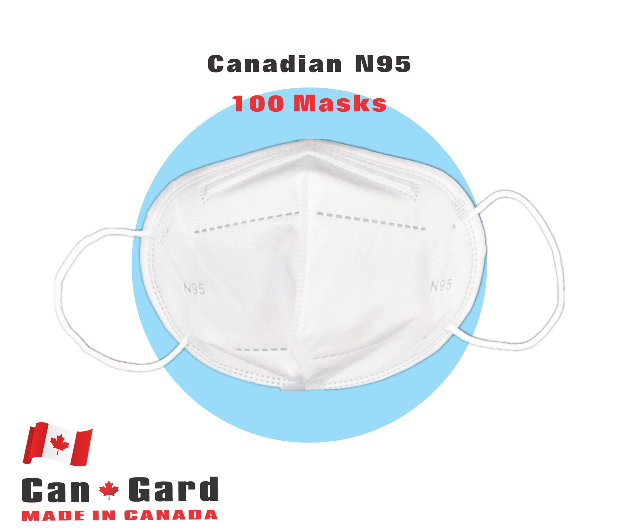 CanGard Care - Canadian N95 100 Masks