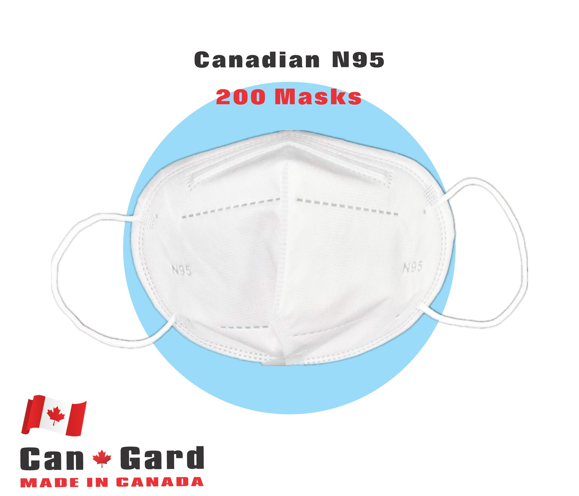 CanGard Care - Canadian N95 200 Masks