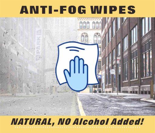 CanGard Care - Anti-fog Wipes
