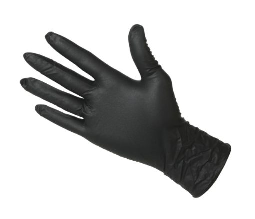 Cangard Care - Nitrile Gloves Black (M)