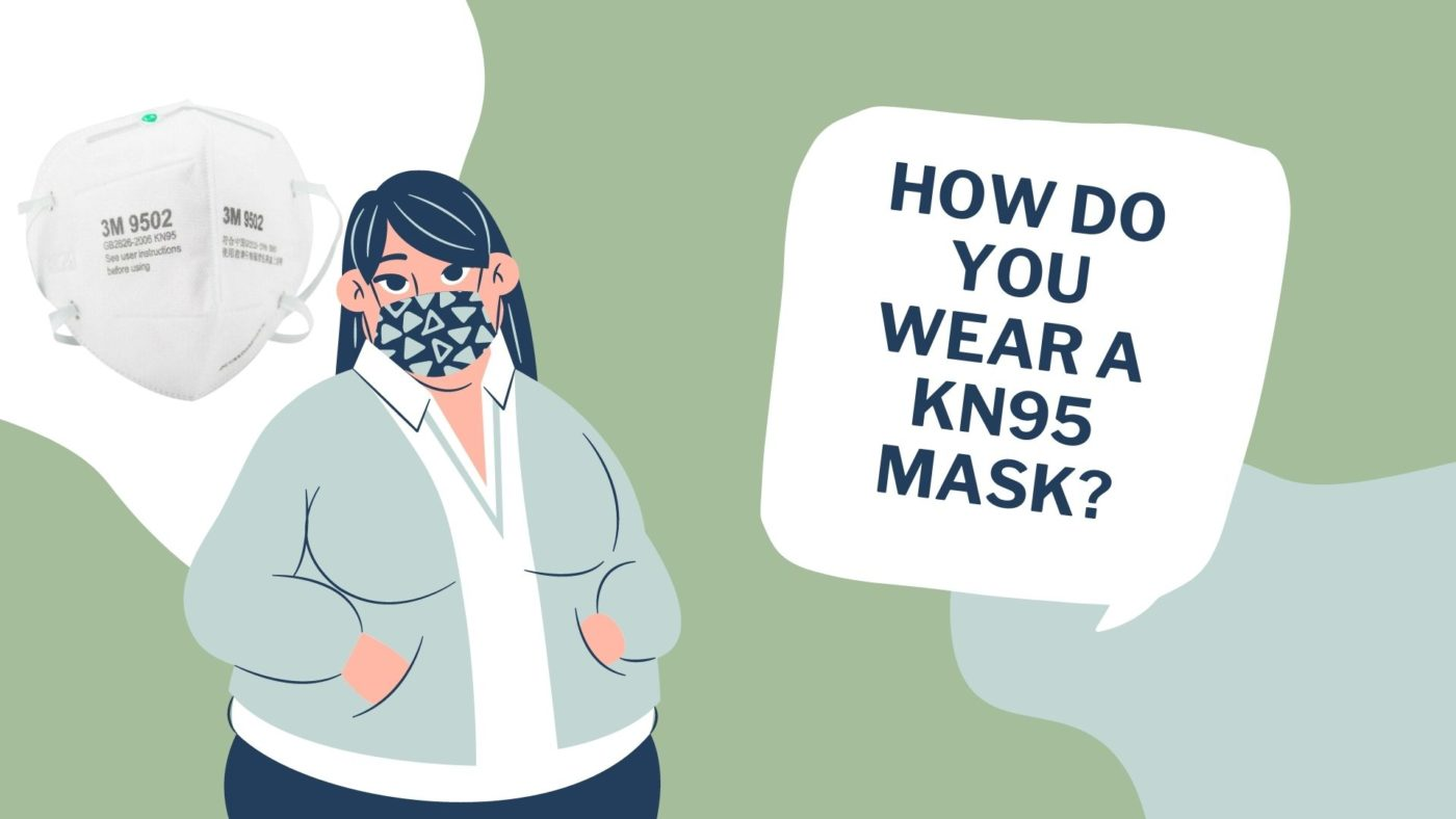 How do you wear a KN95 mask_
