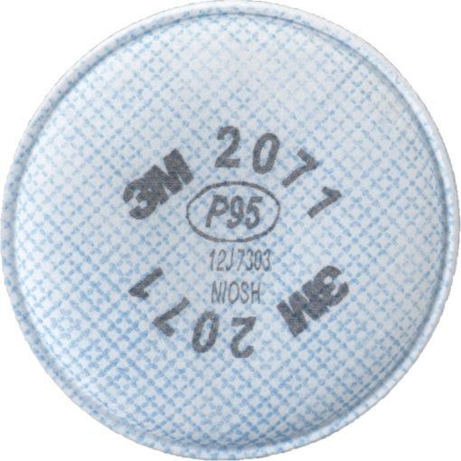3M 2071 Respirator Prefilters, Particulate Filter, P95 Filter