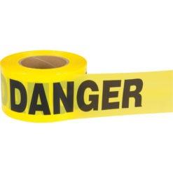 22DANGER22 Polyethylene Barricade TAPE
