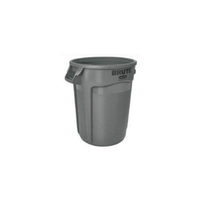 Round Brute vented container for PPE & medical disposal