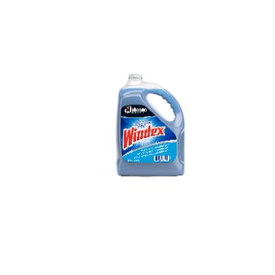 Windex glass cleaner with ammonia acid