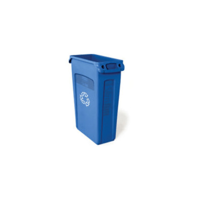 Slim Jim® with Venting Channels recycle bin