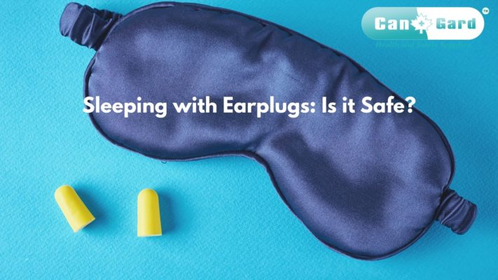 safety and sleeping with earplugs