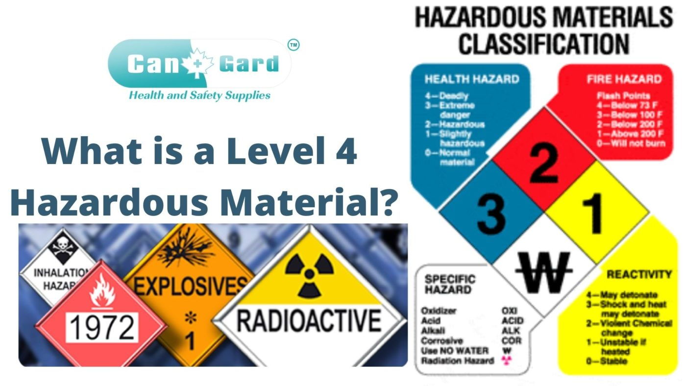 What is a Level 4 Hazardous Material?