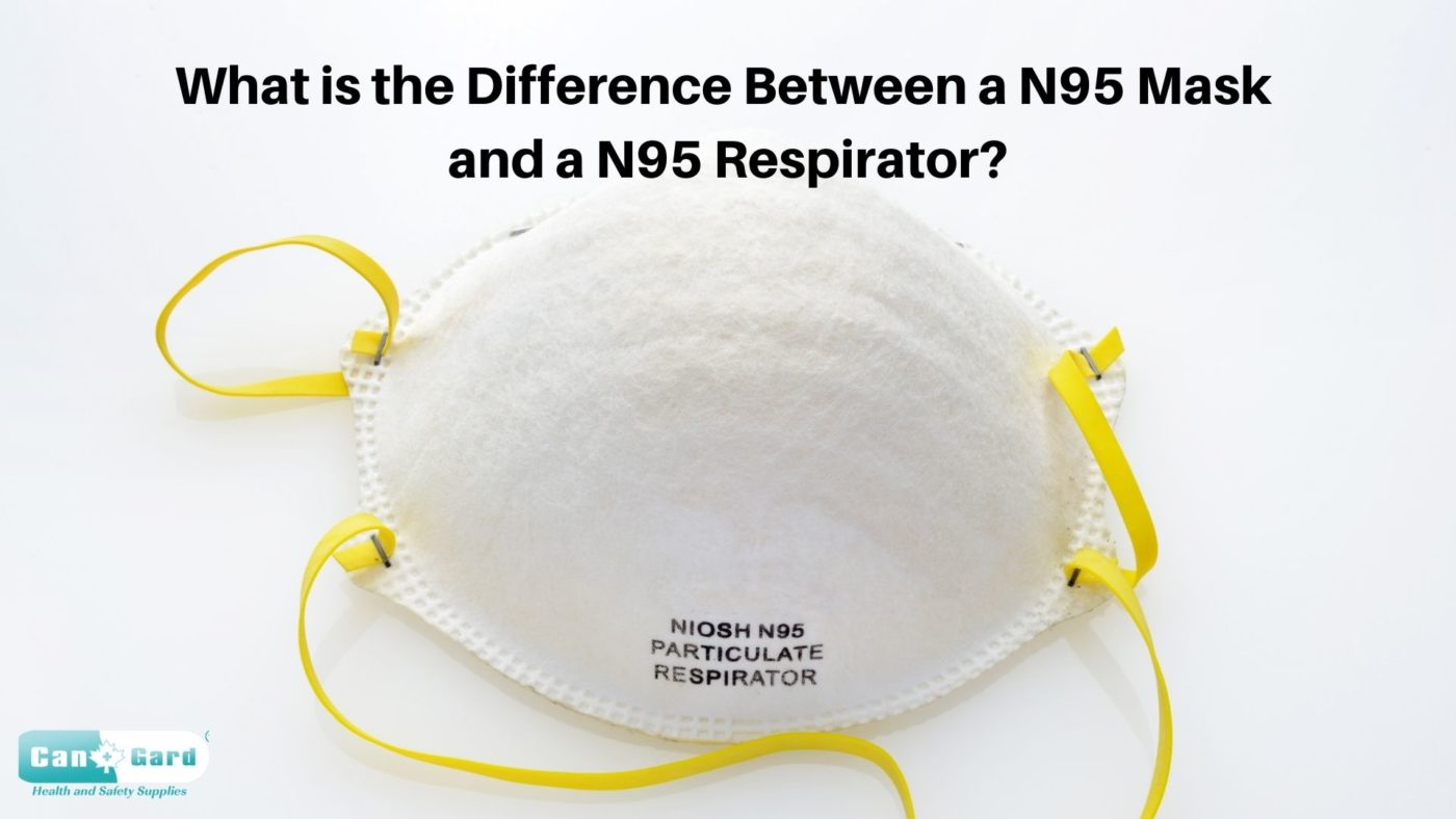 Difference between N95 Mask & N95 Respirator