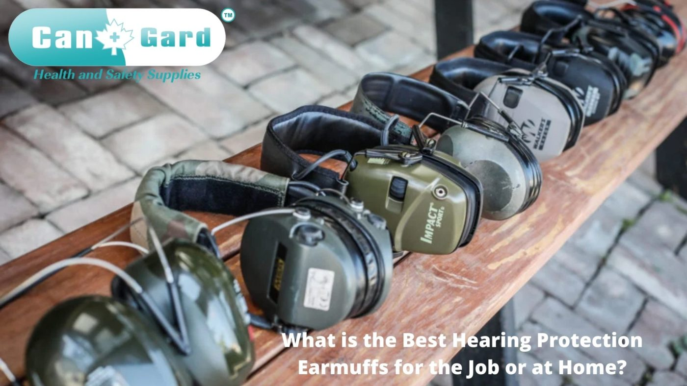What is the best hearing protection earmuffs for the Job or at Home?