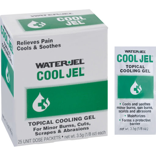Water Jel® Cool Jel® for first aid kits