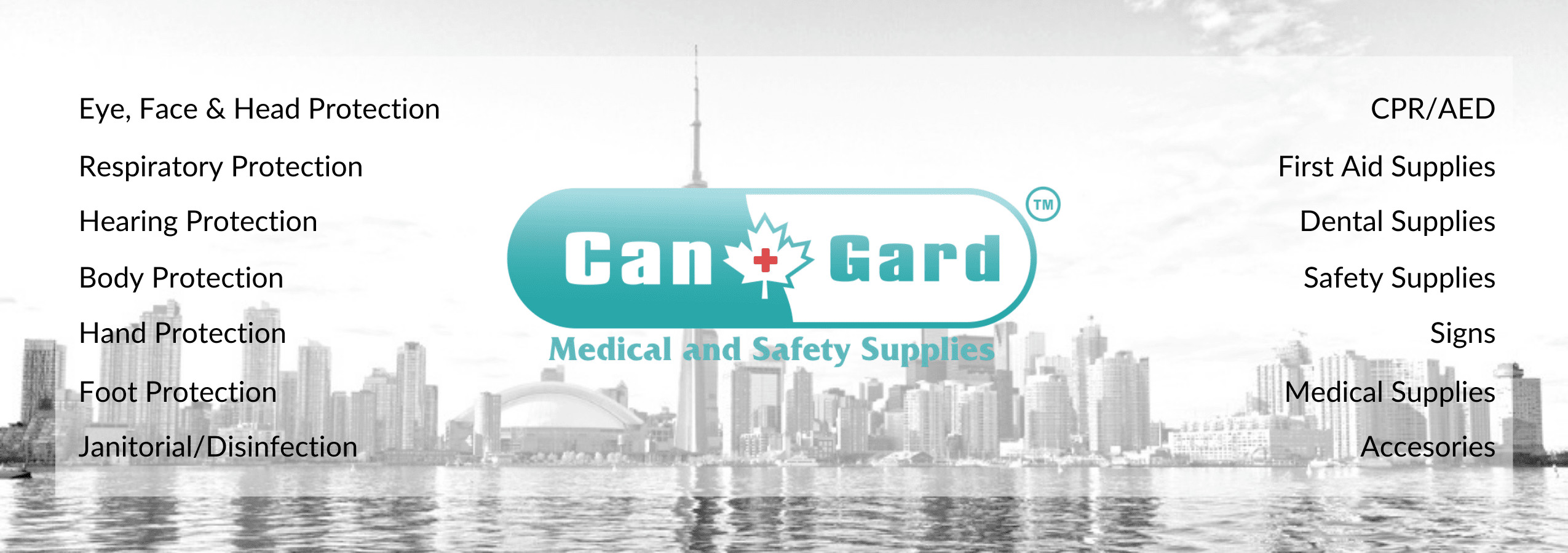 personal protective equipment Canada