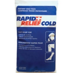 Instant Compress Packs and first aid kits