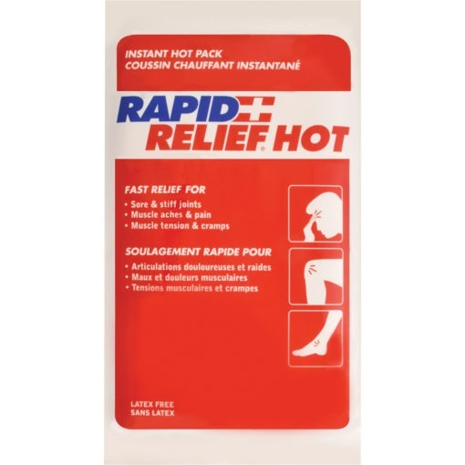 Gel Compress Packs, Cold and Hot, Reusable for first aid