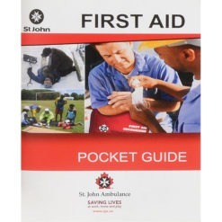 St. John Ambulance First Aid Guides and kits in bulk